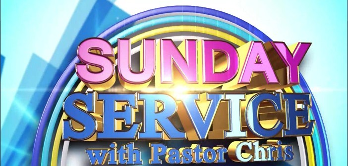 Sunday service with Pastor Chris