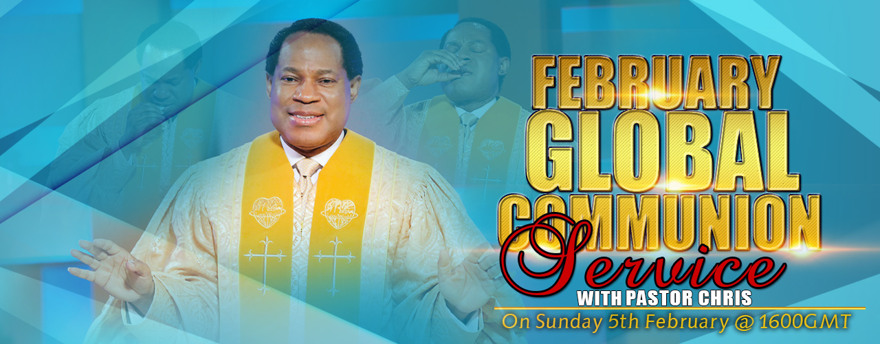 February Communion Service with Pastor Chris