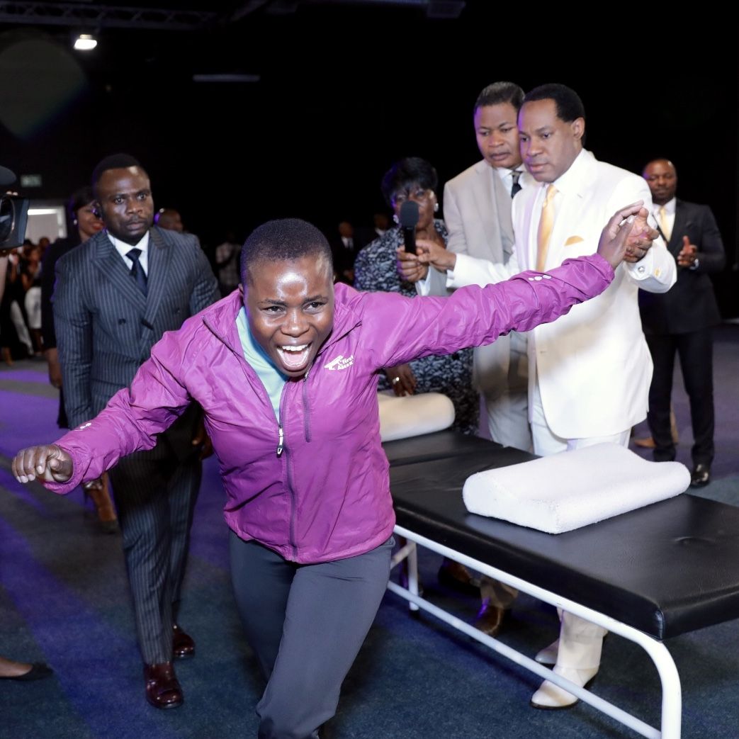 Pastor Chris Healing The Sick