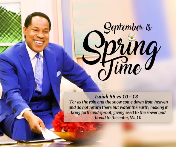 September Communion Service- Springtime