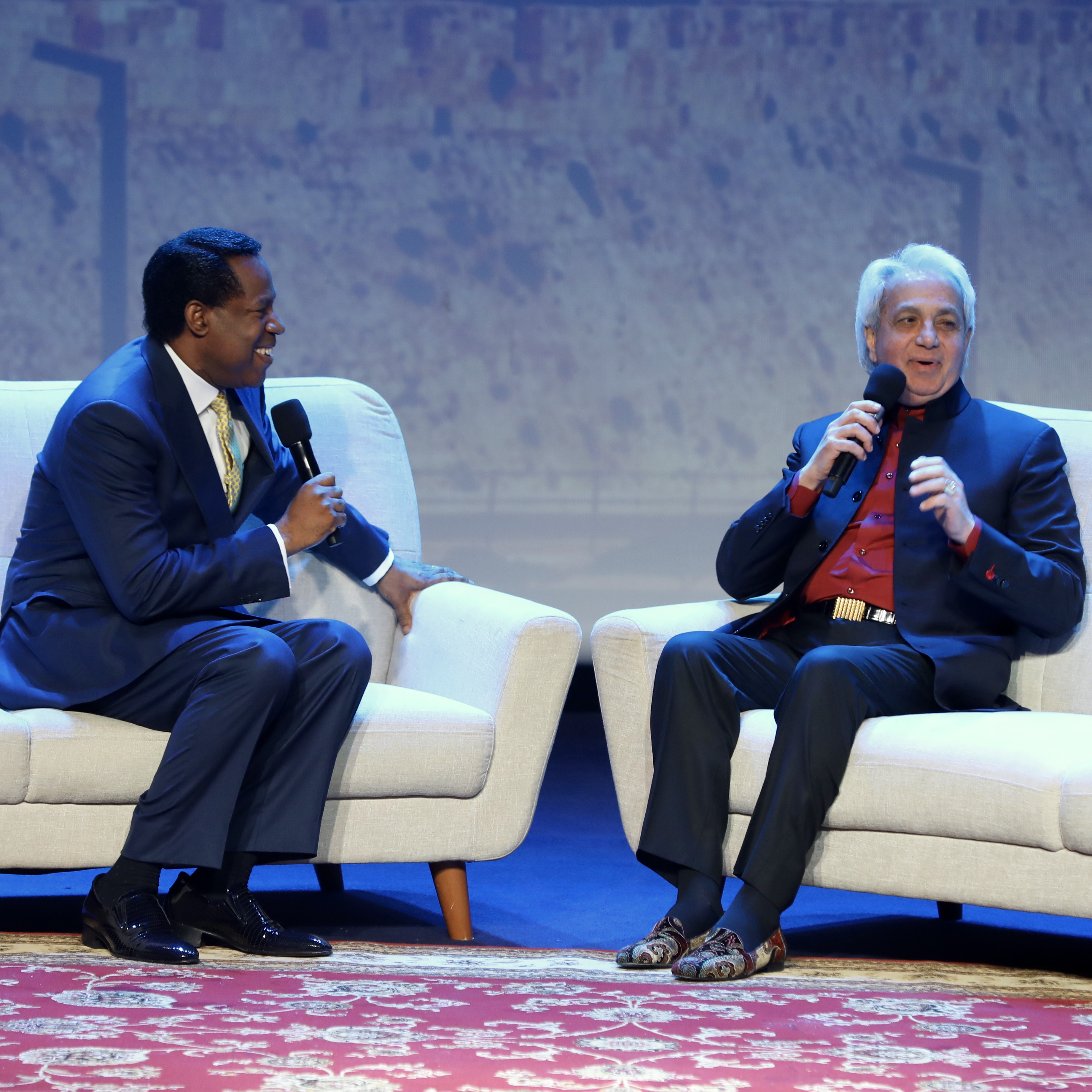 Pastor Chris and Pastor Benny Hinn Discuss Recent Events in
